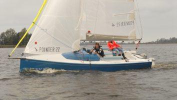 Pointer 22 Sailing