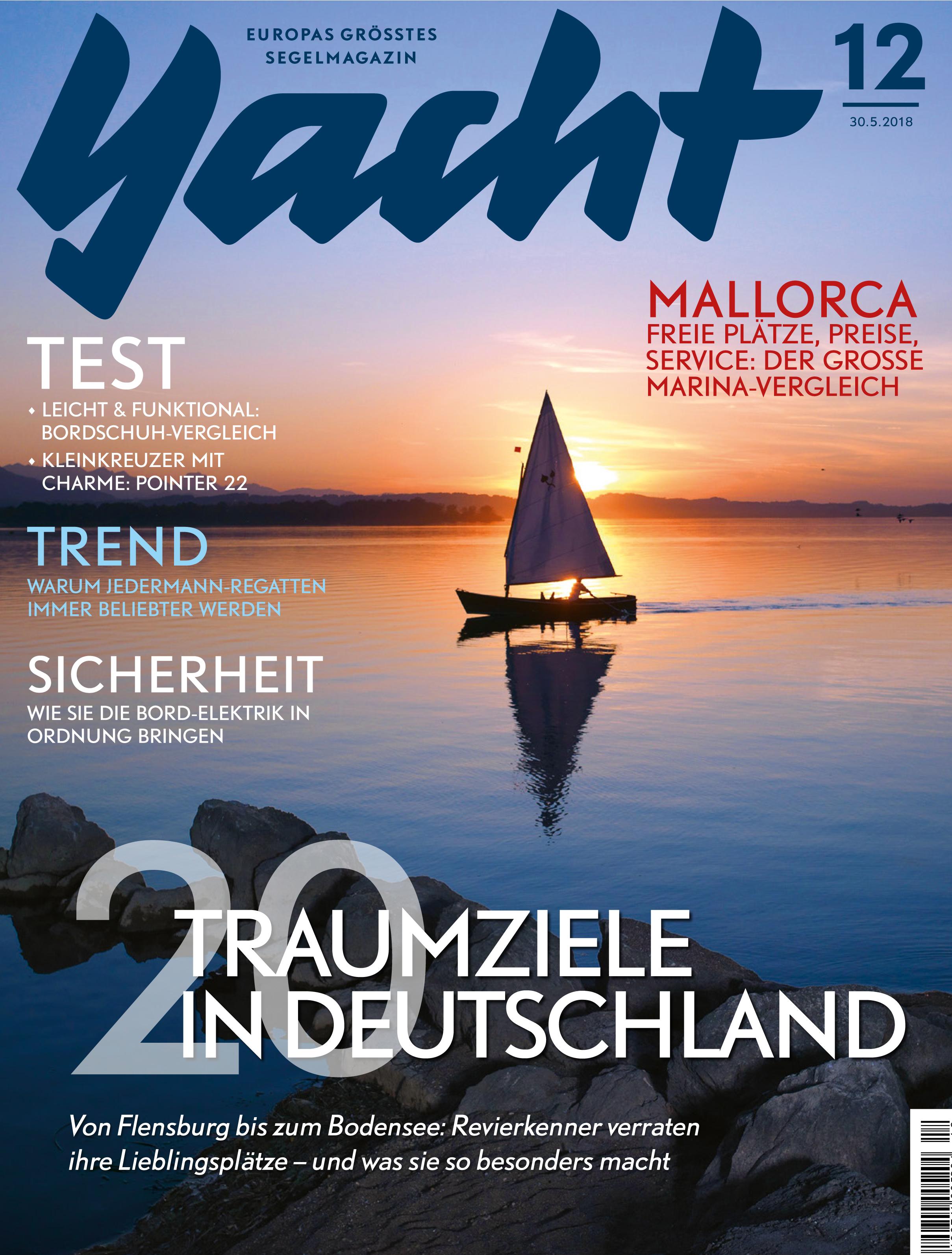 Cover Yacht Magazine #12 2018
